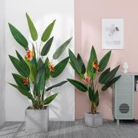 Buy cheap Living Room Artificial Bamboo Plant , Interior Decoration Faux Banana Tree product