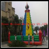 Quality inflatable climbing wall, inflatable rock climbing wall, inflatable climber for sale