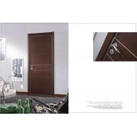 Buy cheap HS-14 Fir Wooden Side Hinged Doors, Custom Interior Vertical Double Hinged Door Factory For Office product