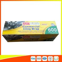 Buy cheap Commercial Wrapping Catering Cling Film 45cm Roll / Cooking Film Wrap For Kitchen product