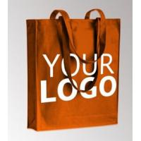 Buy cheap Promotional Standard Size Logo Printed Custom Organic Calico Cotton Canvas Tote Bag,Tote Shopping Bag, Canvas Bag,Cotton product