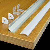 """Buy cheap TECLED 46"""" 4Ft. Aluminum Profile for LED Strip/Tape Light Corner Mount Anodized product"""