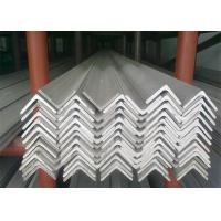 Buy cheap Hot Rolled Stainless Steel Angle Bar, No.1 Finish Stainless Steel Angle Stock product