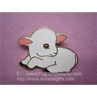 glitter paint lapel pin