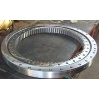 Buy cheap Three Row Roller Type Gear Slewing Ring Bearing Aerial Working Platform Automation Line Marine Crane Slewing Bearing product