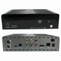 Buy cheap Android TV Box with HD DVB-T, AMLOGIC 8726 Main Chip and Metal Case product