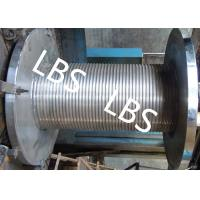 Buy cheap Custom Lebus Groove Wire Rope Drum With High Speed Rope Wheel product