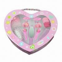 Buy cheap Children's Ornament Set, Lovely Displayer Box, Customized Designs and Specifications are Accepted product