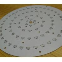 Buy cheap Single Side LED Light PCB Board Aluminum PCB Board For LED Lighting product