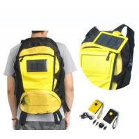 Buy cheap 1.5w solar backpack, solar travel bag with 1600MAH battery product