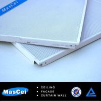 Buy cheap 600*600 Perforated Metal Tile Ceiling product