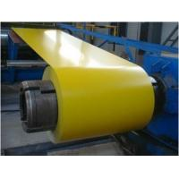 China Z40 - Z275 Prime Prepainted Galvanized Steel Coil Bright Mass Dull Surface wholesale