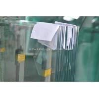 Coated Pvb Resin Tempered Safety Glass Impact Resistance , Heat Strengthened Glass
