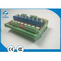 Buy cheap 4 Channel Relay Module / PLC Amplifier Board  Positive Negative Control Optocoupler product