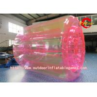 Buy cheap Colorful Inflatable Zorb Ball , Transparent Inflatable Water Roller Ball For Kids product