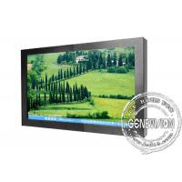 China 1366x 768 Wall Mount LCD Display 32 , LCD AD Board with Digital Photo on sale