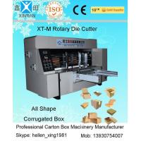 Buy cheap Automatic High Precision 150 Pieces / Min Carton Box Rotary Die Cutter product