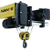 Buy cheap 8 T/9 M Low Headroom Hoist , Electric Low Headroom Wire Rope Hoists For Heavy Work product
