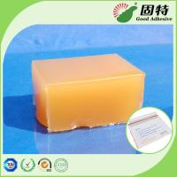 Buy cheap Yellow and semi-transparent Block PSA Hot Melt Glue Adhesive For Packaging Mail Bag Sealing,Express Envelope bag sealing product