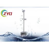 Buy cheap 25mm Size Hand Held Shower Head With Slide Bar, CE Shower System With Slide Bar product