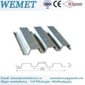 Buy cheap Steel floor deck for steel structure building WMT 75-200-600 product