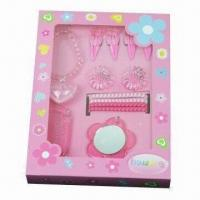 Buy cheap Children's Ornament Sets, Lovely Displayer Box, Customized Designs and Specifications are Accepted product