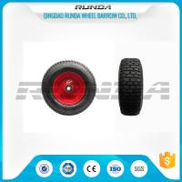 "Buy cheap Pneumatic Heavy Duty Rubber Wheels 16"" , Replacement Trolley Wheels Anti Skidding product"