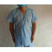 Buy cheap SPA Beauty Disposable Sauna Gowns / Disposable Kimono Suits Non Woven Material product