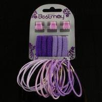 Buy cheap Elastic Hair Bands with Clips, Suitable for Children, Available in Various Sizes product
