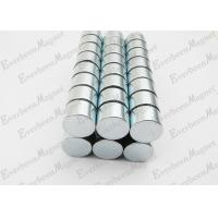 Buy cheap Strong Neodymium Magnets Dia 15 mm * 10 mm Thickness Zinc Coated For Holders product