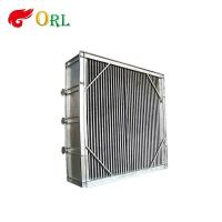 Buy cheap Power plant hot water boiler Plate Type Boiler Air Preheater Alloy Steel , Boiler APH Energy Saving product