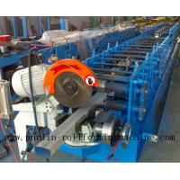 Buy cheap Downpipe / Water Pipe / Downspout Roll Forming Machine , Drain Pipe Production Line product