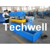 Buy cheap Hydraulic Custom PLC Control Roof Curving Machine With Speed Adjustable product