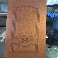 Quality Different Styles HDF MDF Door Skin Melamine Faced For 0.1-0.2mm Tolerance for sale