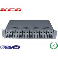Buy cheap 14 Slots Optional Multimode Media Converter 19 Inch 2U Chassis Rack Type product