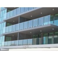 Buy cheap Proyecto de edificio moderno Balustrading en venta, barandilla esmaltada from wholesalers