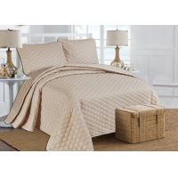 Buy cheap Fashion Patchwork Quilt Flower Bed Spread Sets With Drop Skirt , Comforter 220*220CM from wholesalers