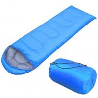 Buy cheap Blue / Green Backpacking Sleeping Bag Tear Resistant With Single - Layer Structure product