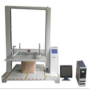計算機制御のパッケージの試験装置、カートンは圧縮試験機械に抵抗します