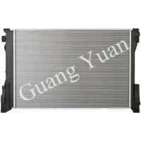Quality Light Weight Low Noise Mercedes Car Radiator , Custom Aluminum Radiator With Plastic Tank for sale