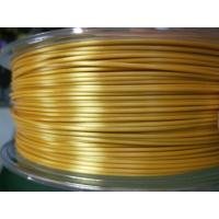 Buy cheap Factory price PLA poly lactic acid filamento impressora silk gold 3d filament from wholesalers