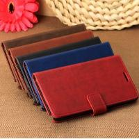 China Luxury Standable Leather Case for Samsung Galaxy Note 3 III N9000 with card holder on sale