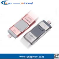 China High speed 3 in 1 flash drive usb 16GB 32GB 64GB 128G card with usb OTG on sale