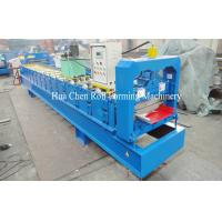 Buy cheap Aluminum Single Layer Roofing Sheet Roll Forming Machine , Galvanized Board product