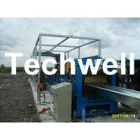 Buy cheap Electric Cutting 17 Stations 17.7KW Large Span Roof Panel Roll Forming Machine 45# Steel product
