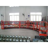 Buy cheap 100m Electric Wire Rope Suspended Platform / equipment for aircraft maintenance stands product