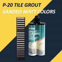 Buy cheap Two Component Sanded Tile Grout 18 Colors Plastic Doubule Tube Packing product