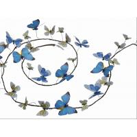 Artificial Garland With Butterfly