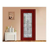 Buy cheap Art Building Decorative Patterned Glass Panels / Decorative Panels For Doors product