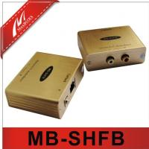China Stereo Hi-Fi Audio Isolation extender  via cat5e/6 on sale